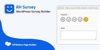 AH Survey - Survey Builder With Multiple Questions Types