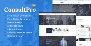 ConsultPro : Finance and Consultancy WordPress Theme
