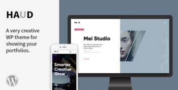 Haud - A Creative Portfolio Theme