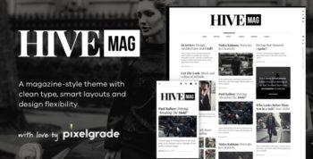 HiveMag - An Elegant WordPress Blog Theme