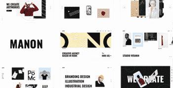 Manon - Portfolio & Agency Theme
