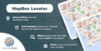 MapBox Locator plugin for WordPress