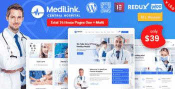 Medilink - Health & Medical WordPress Theme