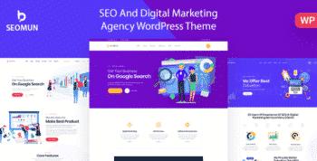 Seomun - Digital Agency & Marketing WordPress