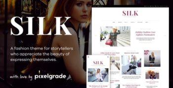 Silk - A Fashion Blogging WordPress Theme