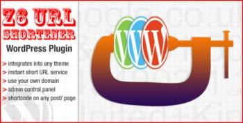 The Z6 URL shortener WordPress plugin