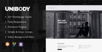 UniBody - Elegant Business WordPress Theme