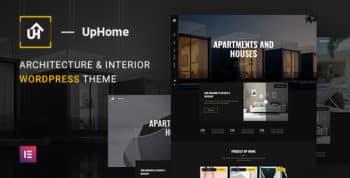 UpHome - Modern Architecture WordPress Theme