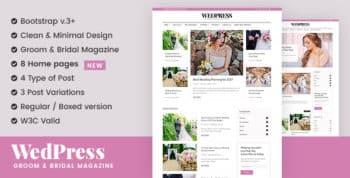 WedPress - Wedding & Betrothal & Married WordPress Theme