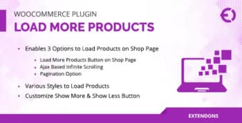 WooCommerce Load More Products Plugin - Infinite Scrolling