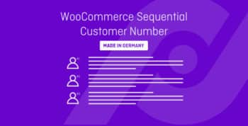 WooCommerce Sequential Customer Number