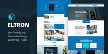 Eltron - Solar Energy WordPress Theme