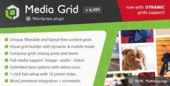 Media Grid - Wordpress Responsive Portfolio