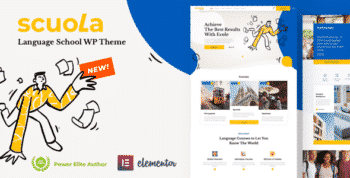 Scuola - Language School WordPress Elementor