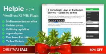 WordPress Knowledge Base Plugin - Basic
