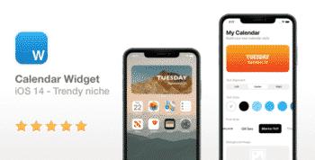 Calendar Widget - NEW iOS 14 Widget
