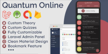 Educational App (Theory & Quizzes) + Admin Panel