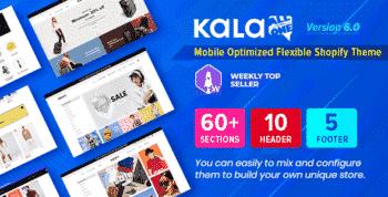 Kala   Customizable Shopify Theme - Flexible Sections Builder Mobile Optimized