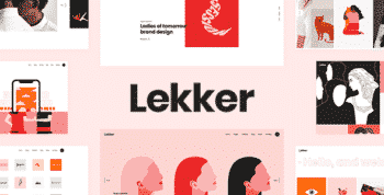 Lekker - Portfolio WordPress Theme