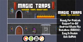 Magic Traps with AdMob - Android Studio File + Buildbox Project
