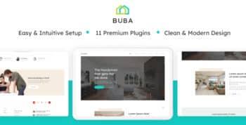 Buba - A Construction Service WordPress Theme