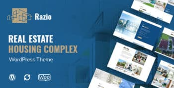 Razio - Real Estate WordPress Theme