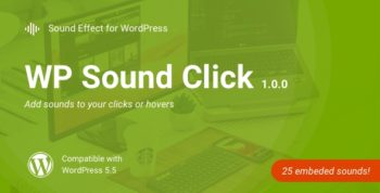 WP Sound Click   WordPress Audio Plugin