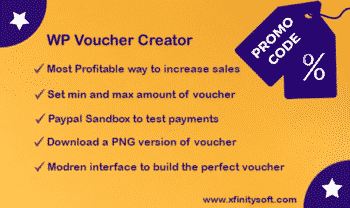 WordPress Coupon and voucher creator - Create Deal,Gift cards, eCards, Promo codes, Discount
