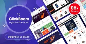 ClickBoom - Digital Store WooCommerce WordPress Theme (6+ Homepage Designs)