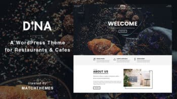 Dina - Restaurant, Bar, Cafe, Food WordPress Theme