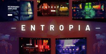 Entropia - Gaming and eSports Theme