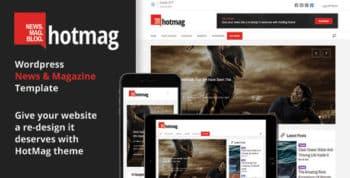 HotMag - Responsive WordPress News, Magazine and Blog Template