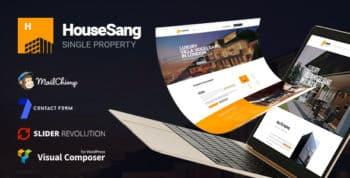 HouseSang   Single Property WordPress Theme