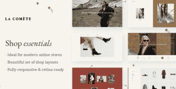 La Comète - Fashion and Clothing Store Theme