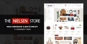 Nielsen - E-commerce WordPress Theme