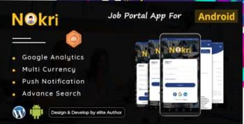 Nokri - Job Board Native Android App