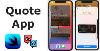 Quote App | Full SwiftUI iOS Application
