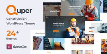 Quper   Construction and Architecture WordPress Theme