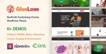 Givelove   Charity & Crowdfunding WordPress Theme